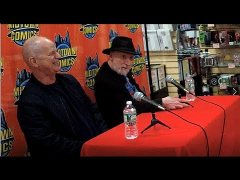 Frank Miller & Klaus Janson Q&A at Midtown Comics celebrating DKIII finale!