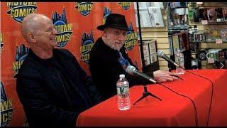 Frank Miller & Klaus Janson Q&A at Midtown Comics celebrating DKIII finale!