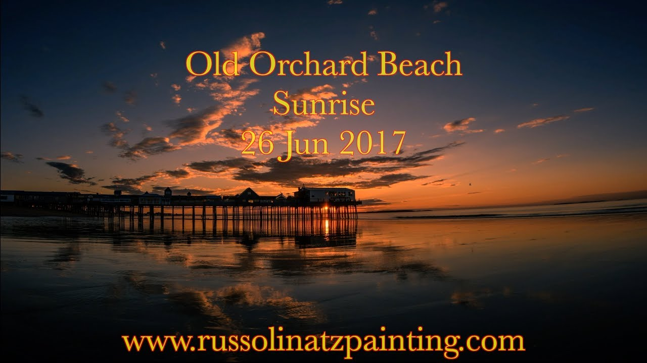 Old orchard beach maine sunrise time lapse 26 jun 2017 for What time is it in maine right now