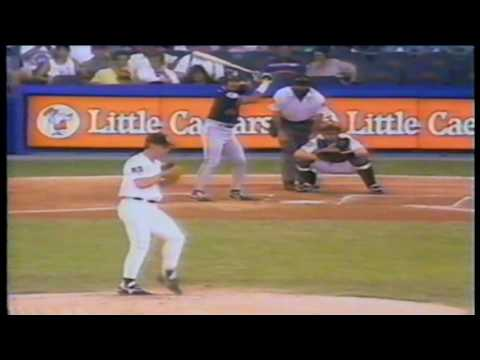 Cleveland Indians at Detroit Tigers 1994 06 21