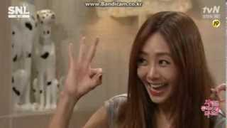 [CLIP] 130928 G.NA 지나 on SNL Korea [2/5]