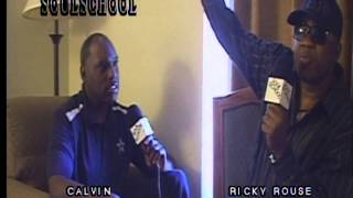 Soul School Television - Interview w/Detroit Musician Ricky Rouse - Pt. 1 - Taped 5/10/14