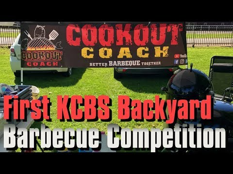 First KCBS Backyard Barbecue Competition