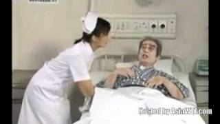 Repeat youtube video Hospital bed wetting-Funny Japanese video