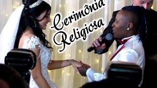 Casamento da Pepê (Pepê & Neném) ★ CERIMÔNIA RELIGIOSA ★ Padrinhos, Alianças, Brindando, etc.