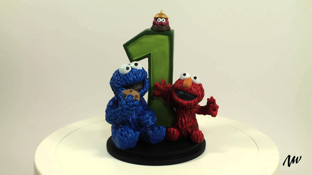 The Furchester Hotel 1st Birthday Cake Topper