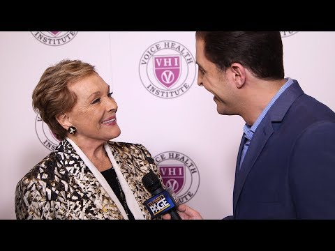 Julie Andrews on Mary Poppins Returns, Christopher Plummer and Acting Roles for Women