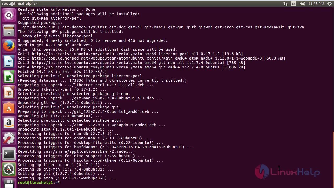 atom text editor ppa ubuntu
