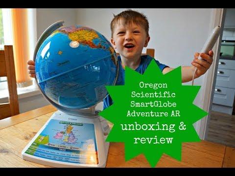 Oregon Scientific SmartGlobe Adventure AR unboxing & review