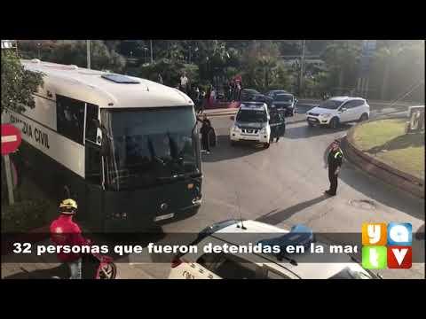 #NOTICIAS 30 detenidos en una operación contra el narcotráfico vitoreados al salir de los Juzgados