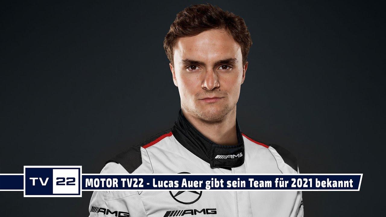 MOTOR TV22: Lucas Auer weiter in der DTM - das 1. Interview über sein neues Team exklusiv bei TV22