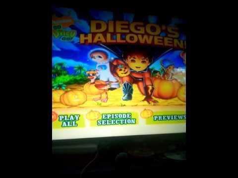 diego go halloween dvd menu