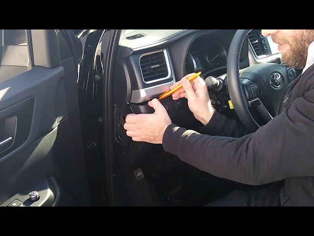 Start-X Push To Start Highlander Remote Start Installation Video (Short Version)