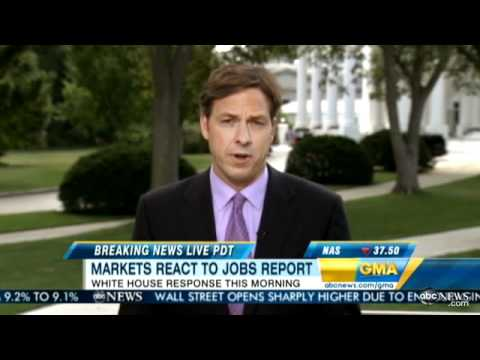 Dow Jones Industrial Average See-Saws After Jobs Report: Small Sense of Relief at White House