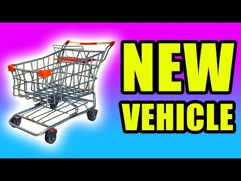 NEW Fortnite Shopping Cart Gameplay ⚠️ Fortnite Battle Royale Shopping Cart Gameplay PC