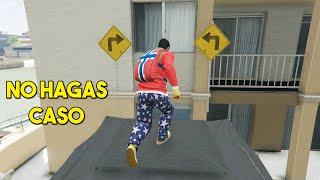NO HAGAS CASO A LAS FLECHAS!! - GTA V ONLINE