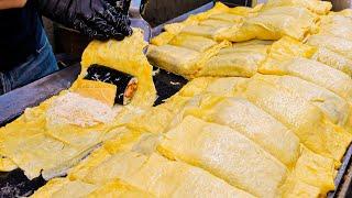 очень вкусно! Топ-8 удивительных корейских кимбапов, которые делают из тысяч яиц каждый день