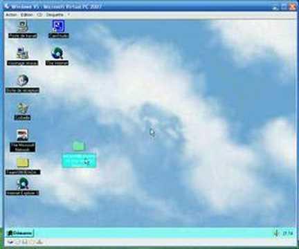 Windows 95 le secret du dossier renommé