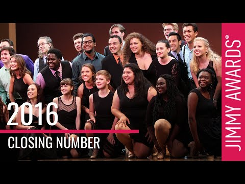 2016 Jimmy Awards Closing Number