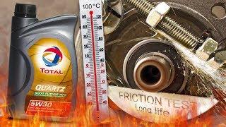 Total Quartz 9000 Future NFC 5W30 Jak skutecznie olej chroni silnik? 100°C