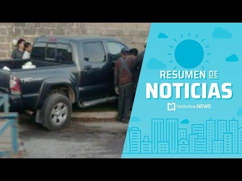 Matan a presidente municipal de Chahuites, Resumen de noticias matutino