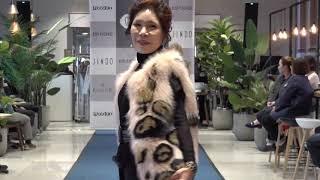 제이액터스 시니어모델 노원롯데백화점 진도모피 패션쇼