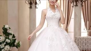 Обзор нового поступления  свадебных платьев часть 2