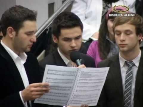 Tinerii bisericii - recital de colinde (Biserica Penticostala Albini)