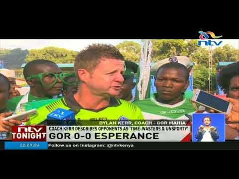 Gor Mahia 0-0 Esperance, RESULT: K'Ogalo fail to score at home