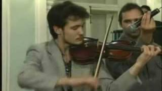 Dave Brubeck with young Russian violinist