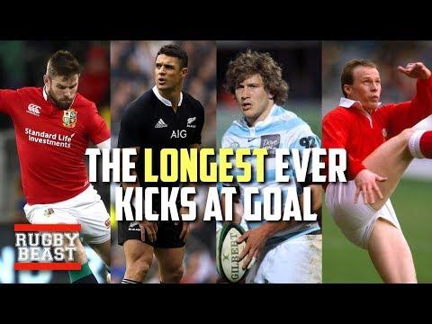 The Longest Ever Kicks At Goal