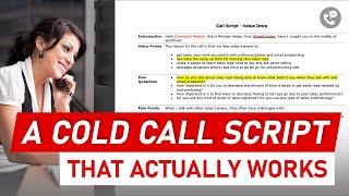 How to Create a Good Telemarketing Script