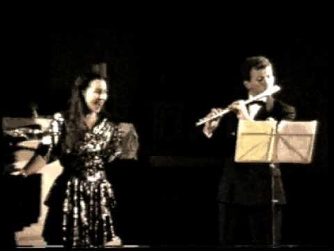 Delibes (Léo): le rossignol   (Trio voix flûte piano)