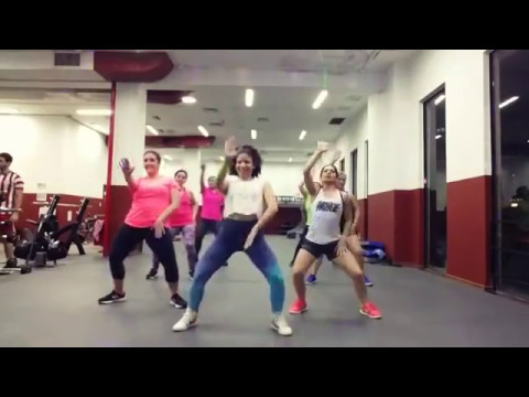 German zumba dance fitness class 2017