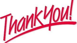 تعلم الإنجليزية كيف تقول شكرا جزيلا بالإنجليزية Youtube