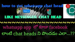 Disable Facebook Messenger Chat Head Icons — Pixlcorps