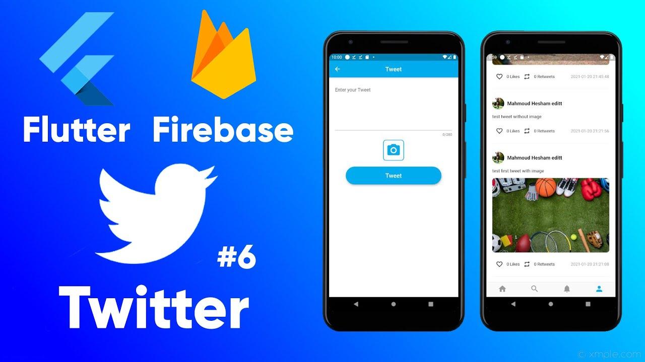Flutter Firebase Twitter Clone   Tweet (Ep 6)