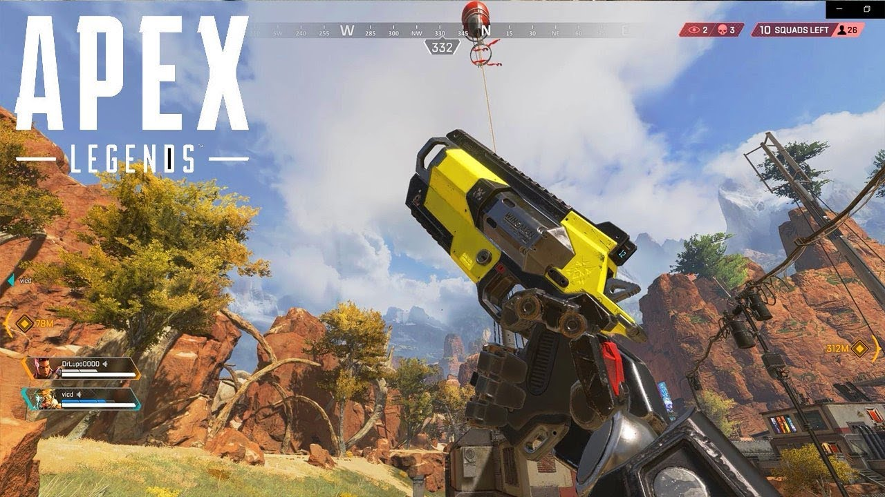 THE BEST BATTLE ROYALE GAME YET!!! | Apex Legends Wraith Gameplay