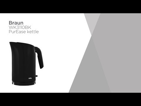 Braun Series 3 PurEase WK3110.BK Jug Kettle - Black   Product Overview   Currys PC World
