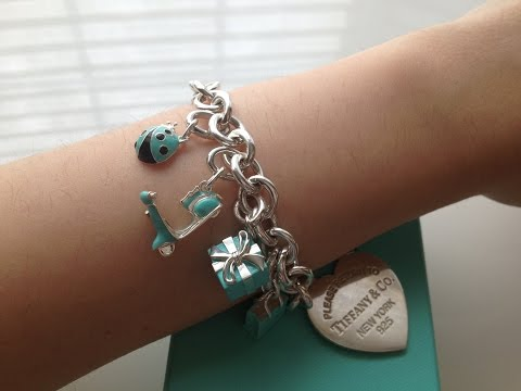 Tiffany & Co. Wearing The Charms!