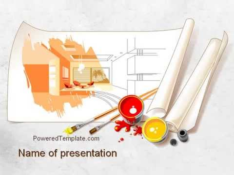 Interior design sketch powerpoint template by poweredtemplate interior design sketch powerpoint template by poweredtemplate toneelgroepblik Gallery