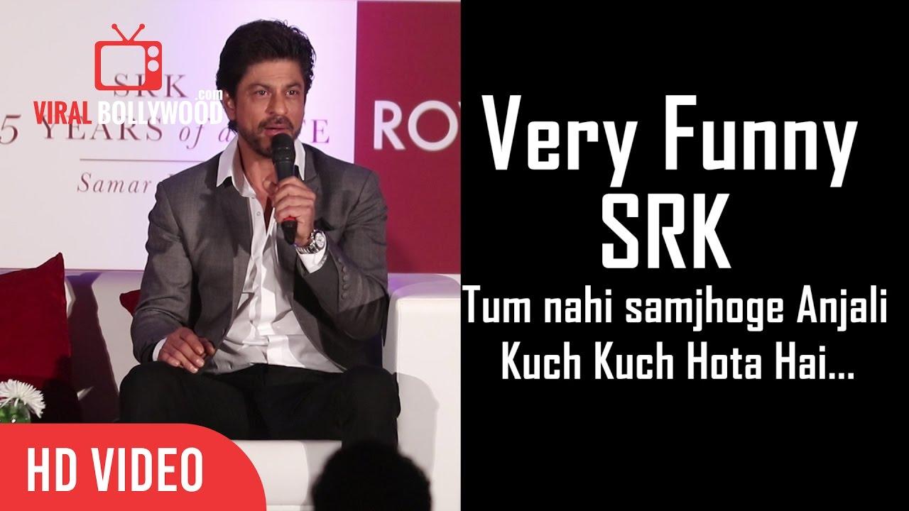 Tum Nahi Samjhoge Anjali Very Funny Shahrukh Khan Youtube
