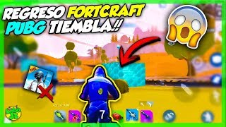 RETURN FORTCRAFT!🔥 TIEMBLA PUBG AND FREE FIRE!! | CREATIVE DESTRUCTION, FORTNITE Android ? Wolf Jz