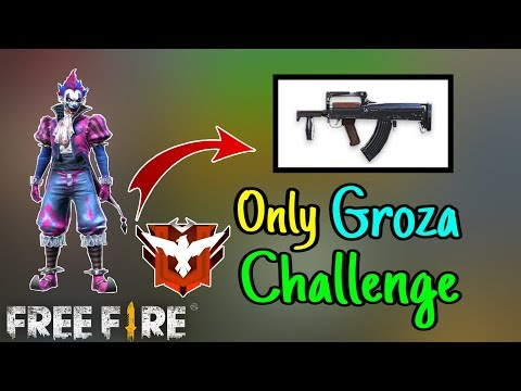 Only Groza Challenge || Ranked Match || Garena Free Fire