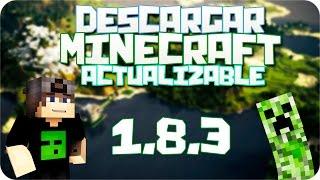 Descargar Launcher de Minecraft 1.12.2 Actualizable (Premium y No premium) (El mejor Launcher)