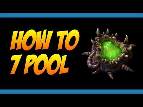 StarCraft II Study #12: How to 7 Pool - Zerg Strategy Build Order