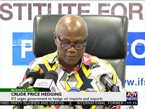 Crude Price Hedging - Business Live on JoyNews (6-2-18)