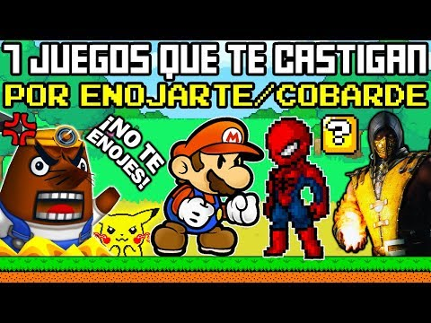 7 Videojuegos que te Castigan por ENOJARTE y ser Cobarde