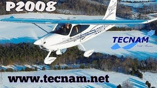 Tecnam P2008, light sport aircraft from Tecnam Aircraft, U.S. Sport Aviation Expo, Sebring Florida.