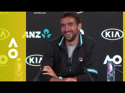 Marin Čilić press conference (SF) | Australian Open 2018